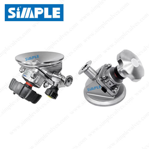 sanitary-tank-bottom-diaphragm-valves