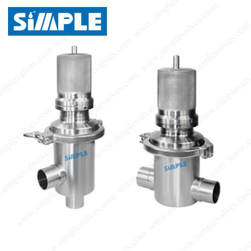 pressure relief valve tri clamp